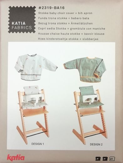 Stokke baby chair cover + bib apron